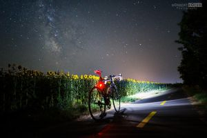 Night biking and photography by NorbertKocsis