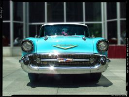 1957 Chevy by yankeedog