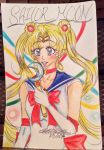 Sailor Moon ( fan art) by SabrinaHeart