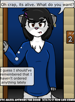 From the Comic - Hazel Answers The Door by NewLifeComic