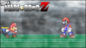 Battle#20 - Super Mario vs. Mecha Mario by xXBrawlStudiosXx