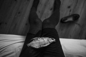 Me and my fish by Trepka
