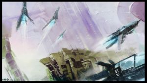 Sky Racers by zilekondic