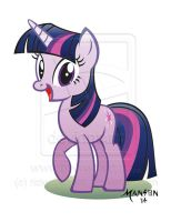 Twilight Sparkle My Little Pony Commission by rickymanson