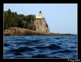 Split Rock Light House by dugonline