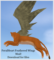 FH Feathered Wings Mod by Nala91