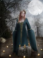 The Goddess Brigid's Imbolc by AvalonSky
