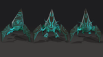 Virus Lowpoly model by Mamaleen