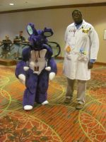 Animefest '12 - Nidoking and Prof. Oak by TexConChaser