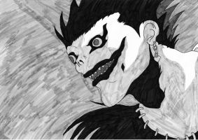 Ryuk From Death Note by LunaticNate
