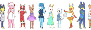 Animal Crossing - My Dream Villagers by satanic-scarlet