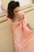 Pink Dress 1 by BelleEtoile