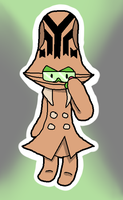 Quincey the Beheeyem by ChicoChikorita