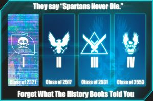 Spartans Never Die by Siphen0
