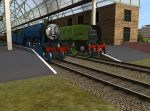 Gordon and the newbuild prince by WaluigiTails3801
