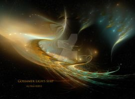 Gossamer Light-Ship by Casperium