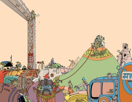 road to red center by royalboiler