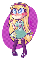 SVTFOE | Little Star by Allyett