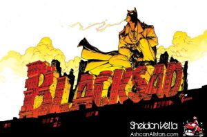 Blacksad by Mr. Sheldon by AshcanAllstars