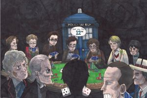 Doctor Who 50th anniversary fanart by MisterLooney
