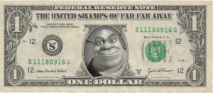 The Shrek Dollar by Jinoka