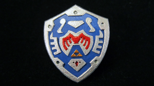 LEGO 3D Printed Hero's Shield (Majora's Mask) by mingles