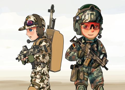 KSK sniper and assault by lazyseal8