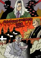 Hellsing Ultimate OVA Poster by ccs1989
