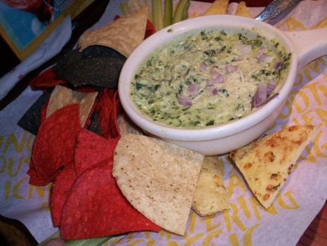 spinich and cheese dip by fatcatmeow