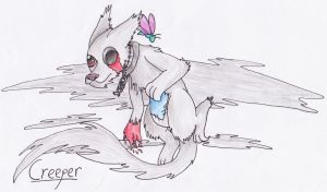 Creeper the Ghost-Dog by Operia