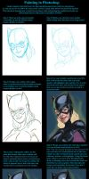 Bat Girl PS Detailed Tutorial by Truz98