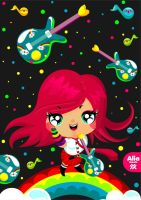 alia in loveshugah world by loveshugah