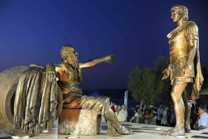 Statue of Alexander the Great in Corinth by Hellenicfighter