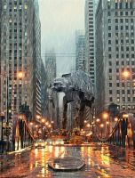 AT-AT in Chicago by ExclusiveApe