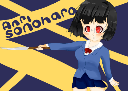 Anri Sonohara Fan Art by SippingRamen
