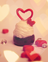 Valentines Day cupcake II by CopycatII