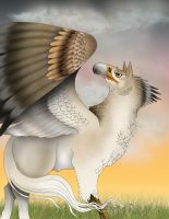 Hippogriff Color by verreaux