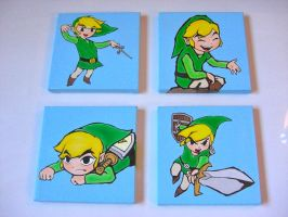 The Legend of Zelda: The Wind Waker Oil Paintings by linus108Nicole