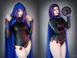Raven - Teen Titans by Kinpatsu-Cosplay