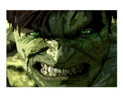 The Incredible Hulk by twistedcortex