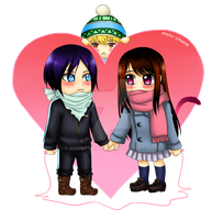 Chibi Noragami by manu-chann