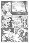 Big Fish pg1 pencils by NickJustus