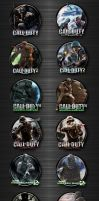 Call of Duty Icon Pack by kraytos