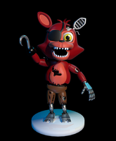 Adventure Withered Foxy by Zylae