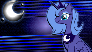 Princess Luna Desktop Wallpaper by ComikzInk