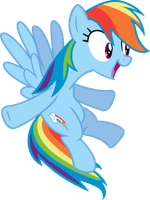 Rainbow Dash wants a hug by Korsoo