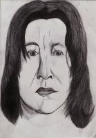Snape Biro Sketch by xSpiral-Staircasex