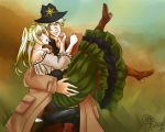 [APH] The lady and the sheriff by MilleniaTerranova