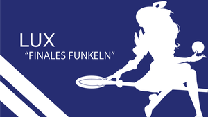 Lux Finales Funkeln Silhouette - Blue - White by urban287