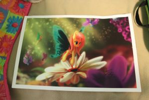 Flutterby Print by eillahwolf